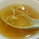 天龍 - スープ
