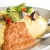 トマトクリームオムライス ※ランチメニューでTOP3人気商品