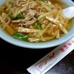 中華料理 とき - 『セロリー麺』¥870-