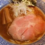 豚骨一燈 - 蛤醤油そば 780円