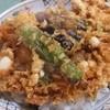 ハトヤ - 料理写真:かき揚げは小海老、イカ、貝柱が入る