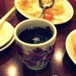 翠鳳 - ランチのコーヒーw