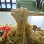 新京亭 - しなやかで柔らかい飯田独特の重曹麺