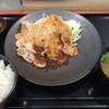 谷川岳パーキングエリア(上り線) スナックコーナー - 料理写真:生姜焼定食 780円