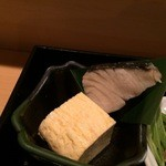 楷菜味 わたなべ - 焼物、鰆の塩焼き、出し巻き卵