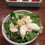 天満橋 リバーカフェ - ランチのサラダ
