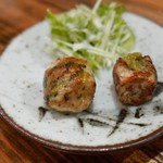 京都捏製作所 - 高菜のつくね/大葉と柚子胡椒のつくね