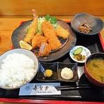 寿賀多 - 料理写真:ミックスフライ定食