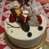 サロン・ド・テ・ジャマン - 料理写真:2015.12. クリスマスケーキ♪