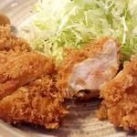 勝蔵 - チキンカツランチ832円(税込)