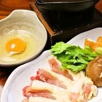 淡海地鶏のすき焼き!