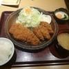 かつ榮 - 料理写真:2016年1月 ロース&カキフライ定食 1880円+税