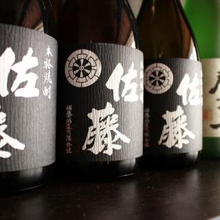 「地酒」「本格焼酎」など種類豊富!