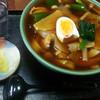 丸美食堂 - 料理写真:あんかけうどん(大盛)