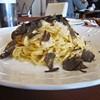オステリア バッコ - 料理写真:タヤリン フレッシュ黒トリュフかけ