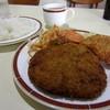 レストラン・テル - 料理写真:Aランチ(メンチカツ・チキンコロッケ)¥400円