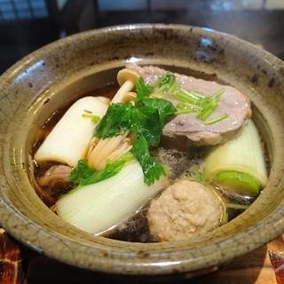 やま竹 - 料理写真:同僚注文の鴨抜き