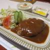 とまと - 料理写真:ハンバーグ定食700円。