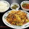 Hidakaya - 料理写真:日高屋 葛西臨海公園店 バクダン炒め定食 670円(税込)