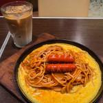 やば珈琲店 - 昔ながらのナポリタン Sサイズ  540円