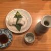 夢やぐら - 料理写真:ほろ酔いセットの板わさと日本酒