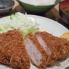 むさしや - 料理写真:上ロースかつ定食【2016年1月】