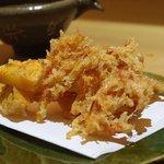 流石 - 桜えびの天ぷら