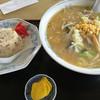 あずま食堂 - 料理写真:白味噌タンメン&半チャーハンセット