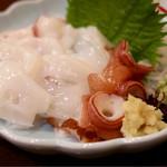 春のお店 - 料理写真:水タコ