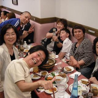 中華粥専門店の広東料理フルコースで健康的に貸切パーティー♪