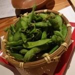 金市朗 - 「枝豆 (480円)」