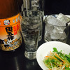 寿司まさ - 料理写真:焼酎ボトル「田吾作」一升4,500円