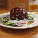 中国料理 堀内 - 料理写真:大きな肉団子の黒酢あんかけ 2016.02