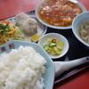 萬来軒 - 料理写真:エビチリ定食(\1200位税込み)