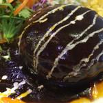 テルカフェ - ハンバーグランチ830円各税込 デミグラスソース