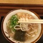 阿倍野庵 - 麺は悪くない