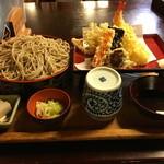 小菅亭 - 料理写真:天ざるそば(上)1,900円