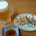 萬龍 - 料理写真:生ビールセット 500円