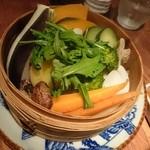 カムカム - たっぷり野菜のせいろ蒸し