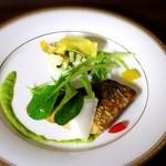 旬菜ダイニング山歩 - 料理写真:山歩コースランチメインの魚料理