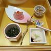 旬菜焼 はざま - 料理写真:前菜(牡蠣の生姜味噌鍋)