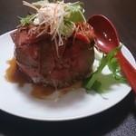 馬酔木 - ローストビーフ丼(並)