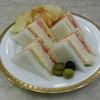 ランデブー ラウンジ - 料理写真:ミックスサンドイッチ