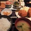 博多もつ鍋やまや - 料理写真:(2016年2月)メンチカツ定食