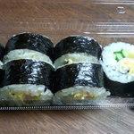 李朝園 - 料理写真:韓国巻寿司