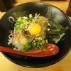 田村家 - 料理写真:坦々まぜそば(温)