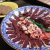 松乃荘 - 料理写真:天然真鴨のお肉とつみれ(1羽、2人分)