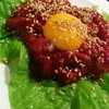 味楽亭 - 料理写真:馬肉ユッケ