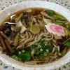 三峰神社興雲閣 - 料理写真:山菜そば600円