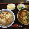 麺の香 たこい - 料理写真:親子丼カレー蕎麦せっと980円